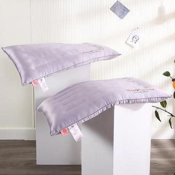 2021新款玫瑰香薰羽丝定型枕矮枕枕头枕芯保健枕(47*72cm/个)
