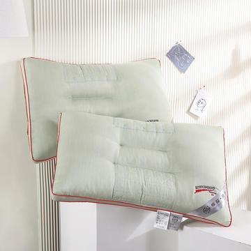 2021新款全棉吸汗养颜羽丝定型枕保健枕枕头枕芯(47*72cm/只)