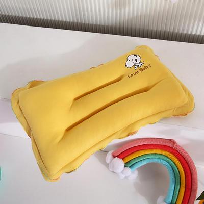 2021新款婴儿枕(长方形)枕头枕芯 22*40cm/只 黄色
