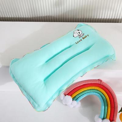 2021新款婴儿枕(长方形)枕头枕芯 22*40cm/只 绿色
