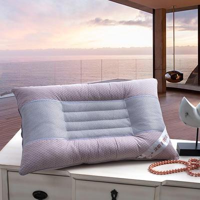 2021新款决明子理疗养生保健枕枕芯枕头45*72cm 灰紫色