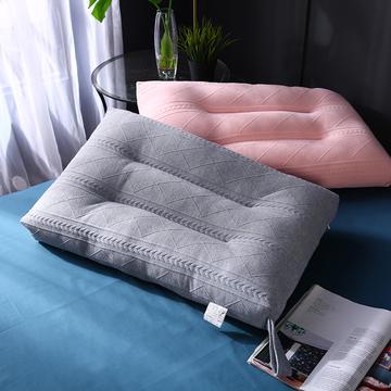 2021新款针织羽丝定型枕枕芯枕头