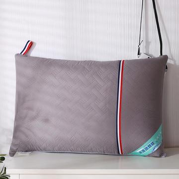 2021新款磨毛绗绣热熔水洗枕枕头枕芯46*72cm
