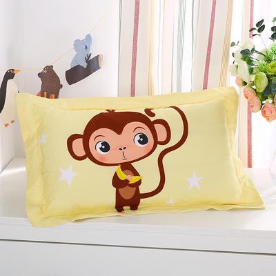 2021新款全棉大版花舒适枕枕芯32*50cm 顽皮猴