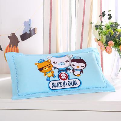 2021新款全棉大版花舒适枕枕芯32*50cm 小纵队
