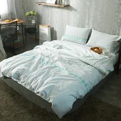 布谷 纯棉四件套全棉床上用品13365活性40s贡缎   旁白 1.2m(4英尺)床 旁白
