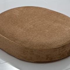 (总) 布谷 O型绒布坐垫中空理疗坐垫功能性美臀坐垫 35x45 咖啡