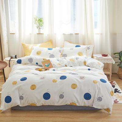 2020新款-小清新四件套 床单款三件套1.2m(4英尺)床 每一天