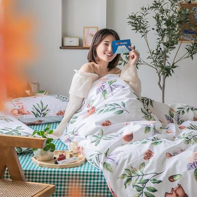 2020新款-纯棉系列四件套 床单款四件套1.5m(5英尺)床 绿野仙踪
