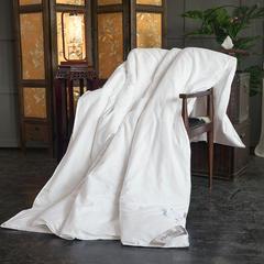 2018新款-全棉花海丝蕴蚕丝被壳 150*200cm 白色