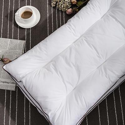 随性家居 纤丝二合一枕 白色