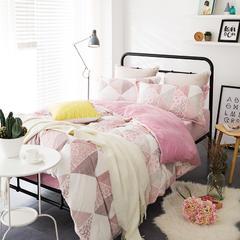 随性家居-雕花绒四件套梦境 1.8m(6英尺)床 梦境