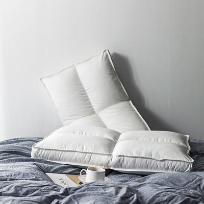 随性家居 简约十字枕800 白色