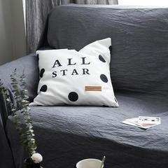 随性北欧靠垫-ALL STAR 45x45cm ALL STAR