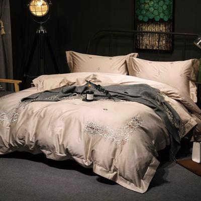随性TJ1989-100S海岛棉四件套 标准床单款200*230 3