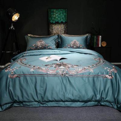 随性TJ1989-100S海岛棉四件套 标准床单款200*230 宝石