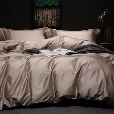 随性TJ1989-100S海岛棉四件套 标准床单款200*230 沁  (极黄)