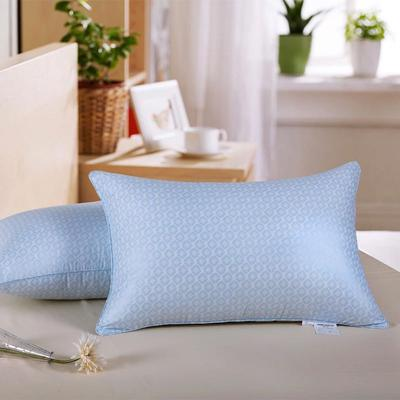 蓝色中号枕 45*70
