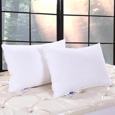 立体羽丝绒枕 48*74cm