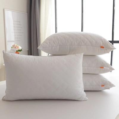 全棉单边绗缝枕 全棉单边绗缝高枕(48*74)