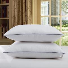 白色单边枕 48*74cm