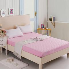 清单家纺  水晶绒床笠床垫加厚保暖防静电夹棉床罩 90*200 粉色