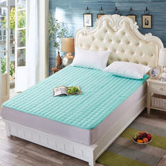 3D透气水洗床垫 0.9*2m 水绿色