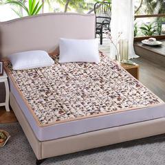 床垫床褥系列   法莱绒加厚床垫小方格 90x200cm 繁花盛世