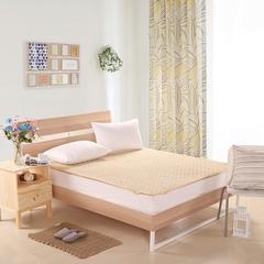 床垫床褥系列    珊瑚绒床垫 100x200cm 米黄