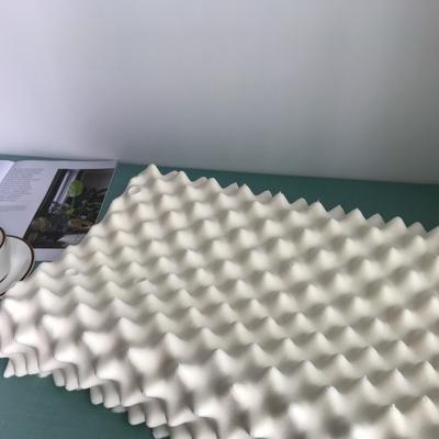 2020新款天然狼牙颗粒波浪按摩乳胶枕 天然乳胶枕 成人狼牙枕(60*37*11/13cm)含内外套