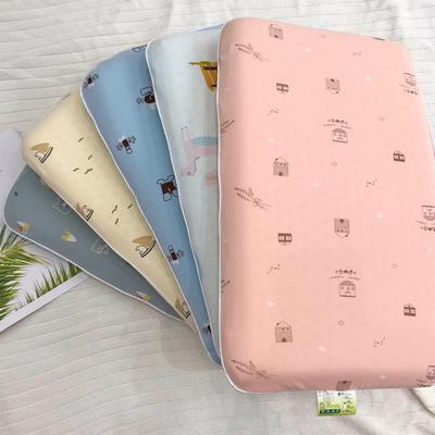 2020新款儿童乳胶枕A品乳胶儿童乳胶面包枕 枕套枕芯 小帆船30*50*5㎝(含内外套)