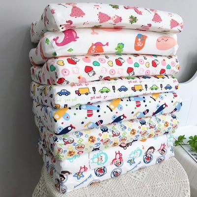 2020新款微商热款全棉儿童天然乳胶枕头全棉儿童乳胶枕枕头枕芯44*27*6/6cm/只 男孩款(随机发)