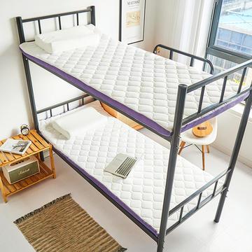 2021新款4D空气纤维床垫三折床垫成人床垫学生床垫宿舍床垫可折叠的床垫(小床图)