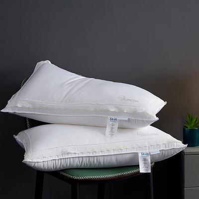 2020新款玻尿酸美容枕枕头枕芯48*74cm/只 白色