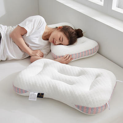 2021新款spa针织棉按摩枕枕头枕芯48*74cm/只 粉色