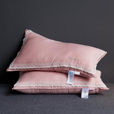 2020新款玻尿酸美容枕枕头枕芯48*74cm/只 粉色