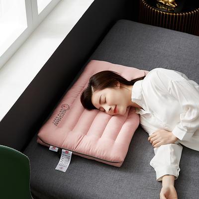 2021新款3M透气低枕枕头枕芯48*74cm/只 3M粉