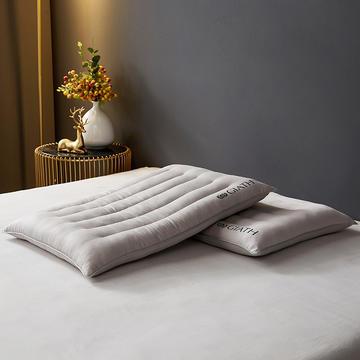 2021新款全棉淳氧棉低枕枕头枕芯48*74cm/只