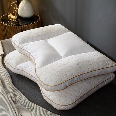 2021新款全棉锋巢护颈枕枕头枕芯48*74cm/只 分区款