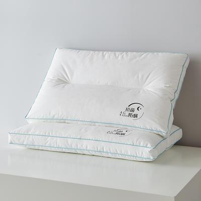 2021新款依沃珑防螨立体枕枕头枕芯 学生款白色38*55cm/只