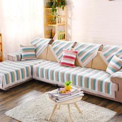 2016新款雪尼尔沙发垫半盖沙发巾坐垫厂家批发 50*50cm 绿色