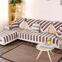 2016新款雪尼尔沙发垫半盖沙发巾坐垫厂家批发 50*50cm 咖色