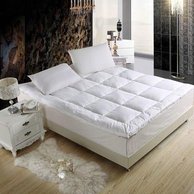 羽丝绒床垫 1.2米 白色