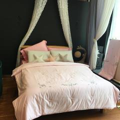 80天丝夏被 200X230cm 粉色