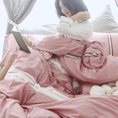 水洗棉四件套 床单款200*230cm 6