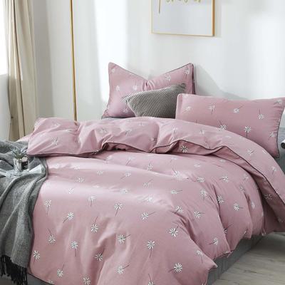 13372新款印花全规格 1.5m(5英尺)床 小雏菊-豆沙