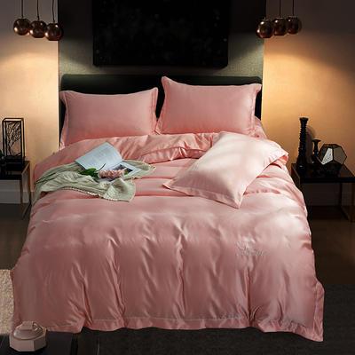 四件套18年新款·绣花水洗真丝四件套 1.5-1.8m床 床单款 艾丽莎(玉)
