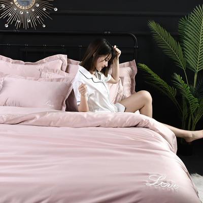 2019新款-双面水洗真丝四件套 1.8m(6英尺)床 贝丝