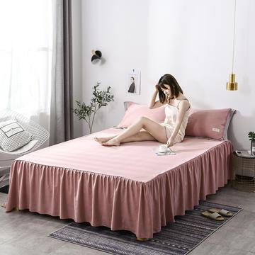 2019新款-水洗天丝床裙三件套