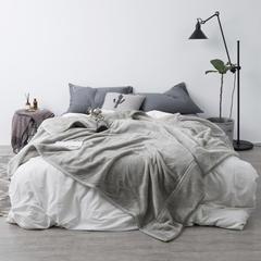 2018新款-毛毯(银灰) 1.0*1.2米 银灰